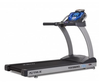 "True Fitness Performance 100 Treadmill with 7"" LCD Console"