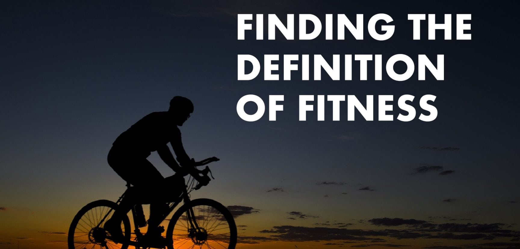 Finding the Definition of Fitness