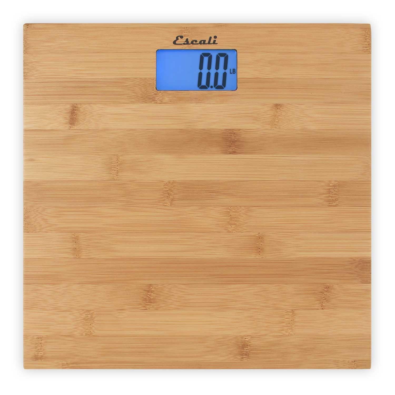 Escali Bamboo Bath Scale