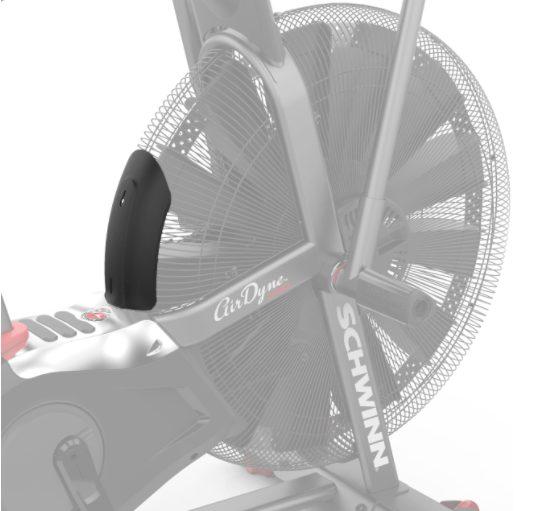 Air diverter for Schwinn and Octane Bike