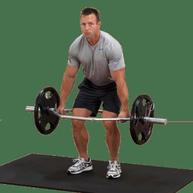 The Body Solid Olympic Shrug Bar